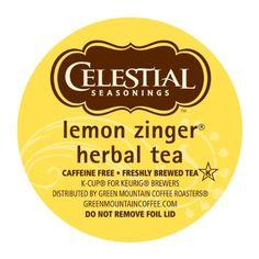 Celestial Seasonings #Lemon Zinger Herbal #Tea