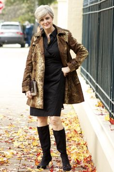 timeless trench | style at a certain age
