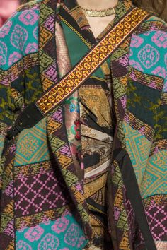 Etro at Milan Fashion Week Fall 2017 - Details Runway Photos