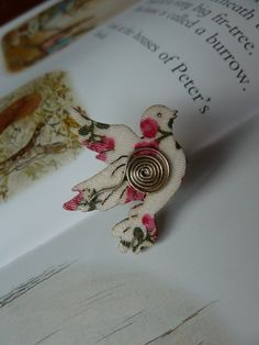 Floral dove ring £5.00