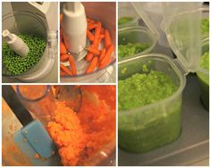 Easy way to make your own baby food-healthy!