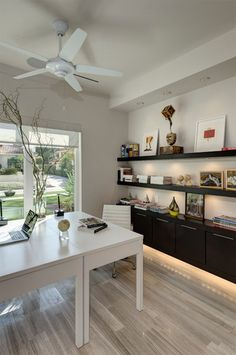 Home Office Design, Pictures, Remodel, Decor and Ideas - page 42 Ikea Home Office, Home Office Space, Home Office Furniture, Office Decor, Office Ideas, Office Designs, My Home Design, House Design, Large Office Desk