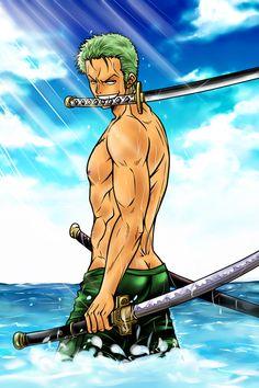 Roronoa Zoro - One Piece - by Sambre-sambre.deviantart.com on @deviantART