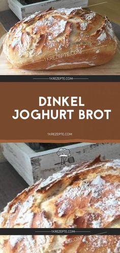 Dinkel Joghurt Brot - 1k Rezepte