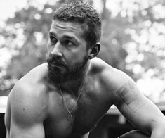 Shia LaBeouf by Craig McDean for Interview Magazine, Nov. Shia Labeouf Tattoo, Shia Lebouf, Pretty People, Beautiful People, Sexy Bart, Cool Attitude, Raining Men, Jake Gyllenhaal, Harrison Ford