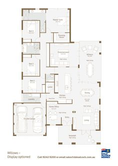 Home house plans on pinterest perth new homes and for Dale alcock home designs