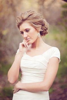 Updo idea for #Wedding #Hair