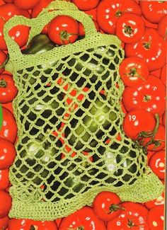 Everyone needs a Farmer's Market Bag when grocery shopping. This free crochet bag pattern will do the trick.