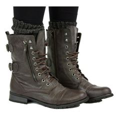 Combat boots- adorable!