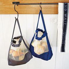 いつでも常備したい 根野菜つり下げストックバッグの会|フェリシモ