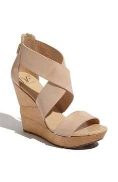92a689999ce Diane von Furstenberg  Opal  Wedge Sandal