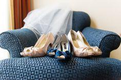 #Brides blue shoes #blue brides shoes. Photo © Stephanie Secrest Photography
