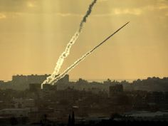 Amidst Peace Talks, Gaza Terrorists Have Fired At Least 18 Rockets At Israel Since January 1 - Rocket being fired from Gaza Strip at southern Israel.