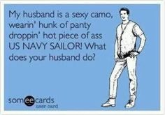 Not my husband yet, and no I do not use this language everyday, but oh so true....