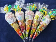 Personalised pre filled Science large sweet/s cones party bag fillers/stocking