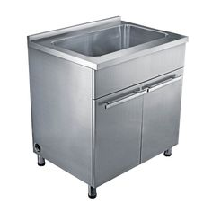 Dawn SSC3636 Stainless Steel Cabinet Kitchen Sink | ATG Stores