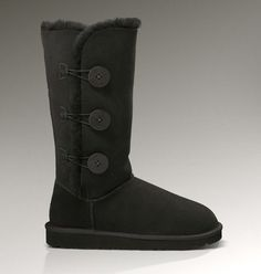 UGG Bailey Button Triplet 1873 Boots Black $79,free shipping