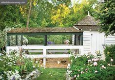 It's a fancy chicken coop!!