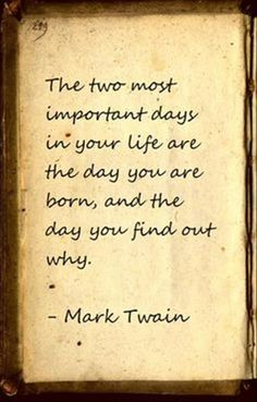 Inspirational Quotes: Mark Twain quote  Top Inspirational Quotes Quote Description Mark Twain quote
