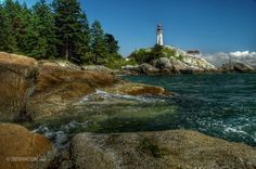 Lighthouse Park, North Vancouver, B.C.  Gorgeous place to hike.