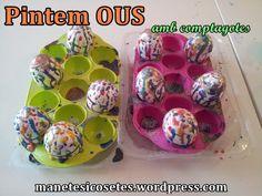 Ous pintats amb comptagotes: Ideals per regalar! Invitations, Creative, Create, Save The Date Invitations, Shower Invitation, Invitation