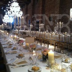 Beautiful wedding to Cipriani Hotel Venice - Installation by Vicenzo Dascanio