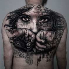 With red or not? Awesome mock up from famous Russian tattoo designer Do you want to get unique tattoo design? Totem Tattoo, Statue Tattoo, Full Back Tattoos, Back Tattoos For Guys, Octopus Tattoo Sleeve, Sleeve Tattoos, Unique Tattoo Designs, Unique Tattoos, Life Tattoos