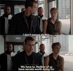 Before the Truth Serum scene. Be Brave Divergent, Divergent Four, Tris And Tobias, Divergent Hunger Games, Tris And Four, Divergent Fandom, Divergent Trilogy, Divergent Insurgent Allegiant, Empowering Songs