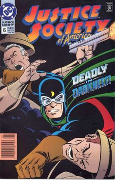 Justice Society Of America #6, January 1993, Pencils: Mike Parobeck, Inks: Mike Machlan