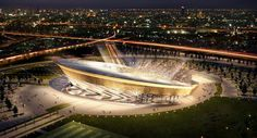 2018 FIFA World Cup Russia Stadia. Region Stadium, on the periphery of Moscow, has a capacity of Football Tournament, Football Stadiums, Chelsea Fc, World Cup 2014, Fifa World Cup, Russia World Cup, Visit Russia, Soccer Stadium, Russia 2018