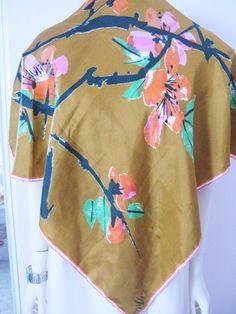 Vera scarf Asian theme.