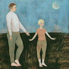 The Dance of Standing - Brian Kershisnik
