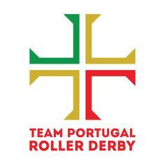 Team Portugal Roller Derby (provisional logo)