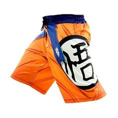 "Razorstorm The Saiyan Mens MMA Fight Shorts Orange (30"" (Small)): Amazon.co.uk: Sports & Outdoors"