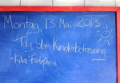 Ein Tag in der Kita Firlefanz zum Tag der Kinderbetreuung 2013