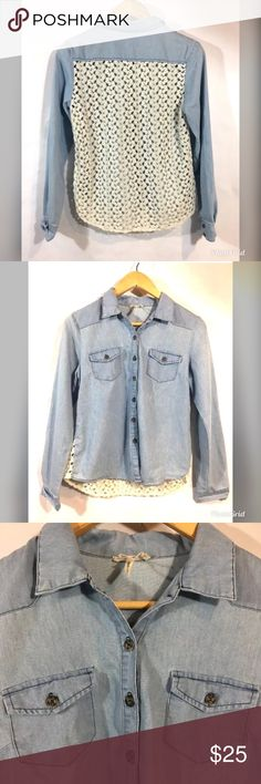0a76371aa J Crew Classic Chambray Shirt in Perfect Fit