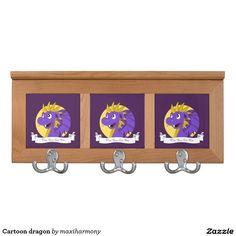Cartoon dragon coat racks