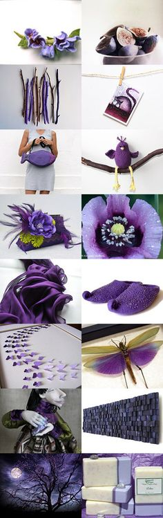 Beautiful purple by Roma Jure on Etsy--Pinned with TreasuryPin.com