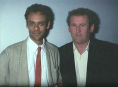 Alexander Siddig and Colm Meaney Awww Star Trek Cast, Love To Meet, Big Hugs, Doctor Who, The Man, Actors & Actresses, It Cast, Fandom, Stars
