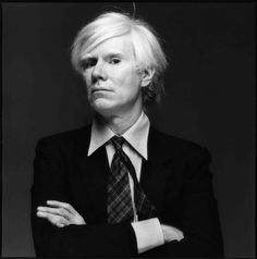 Andy Warhol. Photograph by Michael Halsband