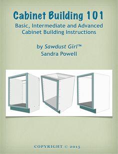 Cabinet Building 101 e-Book - Sawdust Girl®