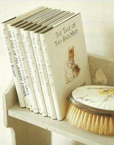 Cottage Beatrix Potter book