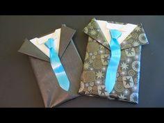En este tutorial, aprenderás a envolver un regalo para caballero con forma de traje. In this tutorial, learn how to wrap a gift for a gentleman.  Facebook: https://www.facebook.com/gustamonton  Twiteer: https://twitter.com/#!/gustamonton  Página: http://www.gustamonton.com