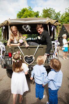 Summer Garden Party Wedding In Hertfordshire - Image by Annamarie Stepney