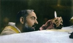 Padre Pio's reverence at Mass