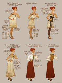 Dressing Rosalind Lutece by shoomlah on deviantART - A little later than I am setting things, but helpful to understand what all is going on.