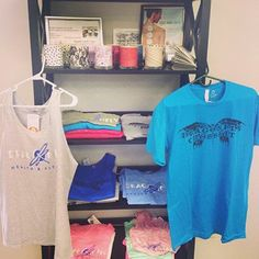 New Dragonfly Baby T's, tank tops, soy candles and more are here! Stop by our retail area today to check out the new fun stuff! Www.dragonflyhealthfitness.com #dragonflyhealth