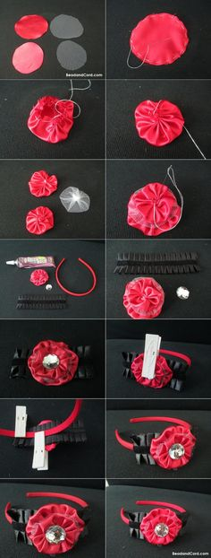 DIY Tutorial: DIY Crochet Flowers / DIY Crochet Flowers DIY Crafts: Crochet Flower Tutorial - Bead&Cord