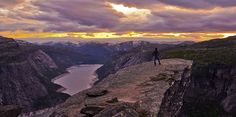 Trolltunga by dlkearns, via Flickr