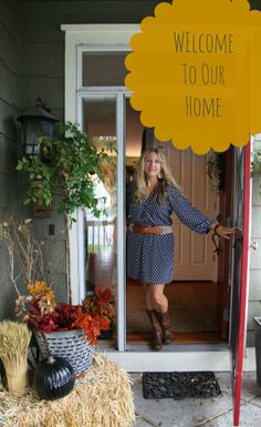 The Finding Fall Home Tour Jeanne Oliver